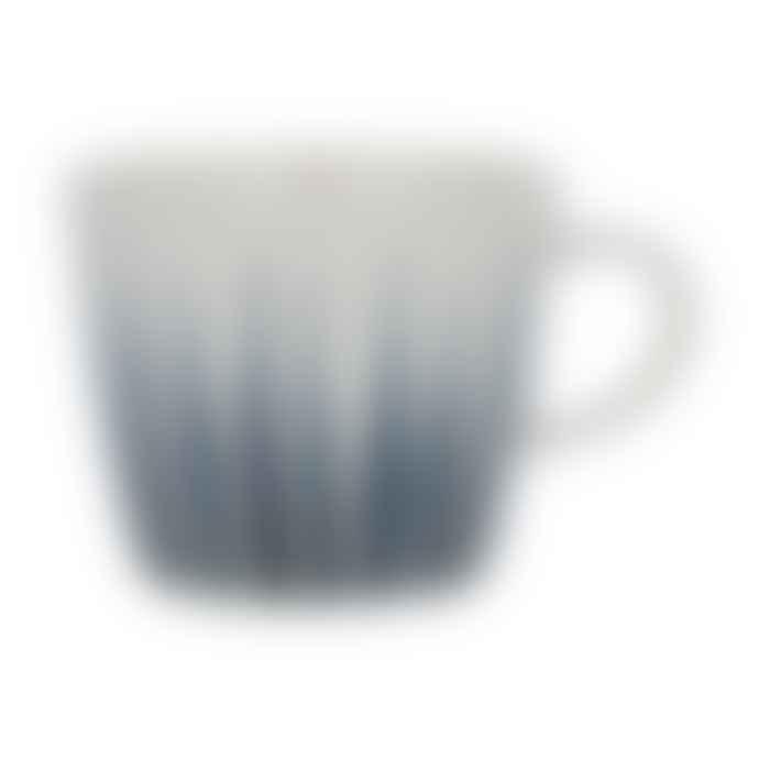 Gisela Graham Navy Flame Ceramic Mug