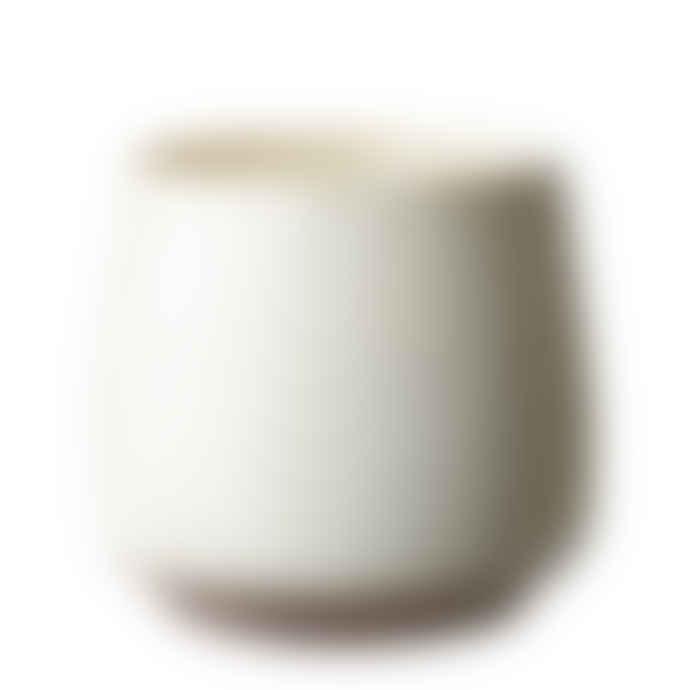 Affari Candle White Winter Iris - 50 H