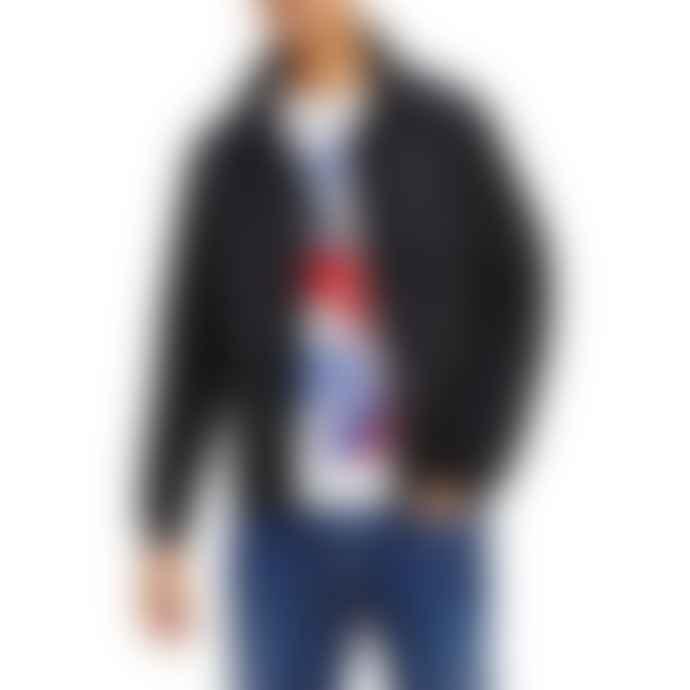 Tommy Hilfiger Tommy Jeans Essential Bomber Jacket Black