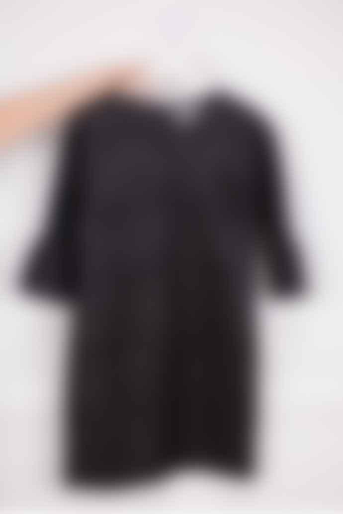 Essentiel Antwerp Ocrom Pattern Dress In Black