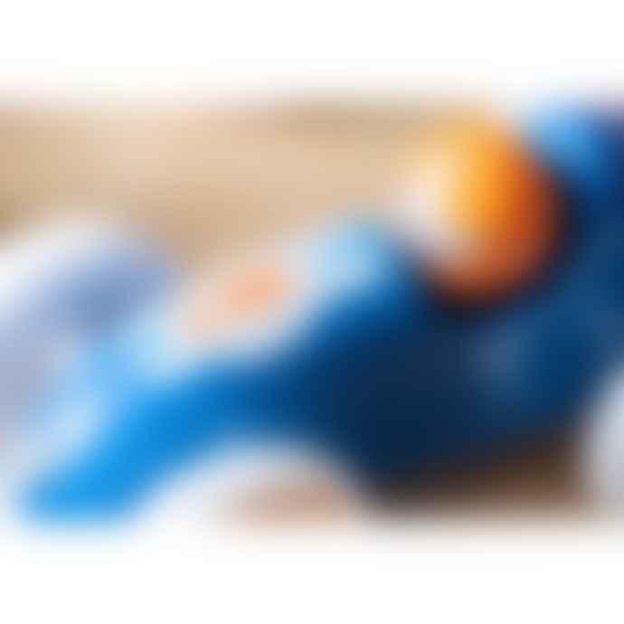 Vilac Blue and Orange Drag Racing Car