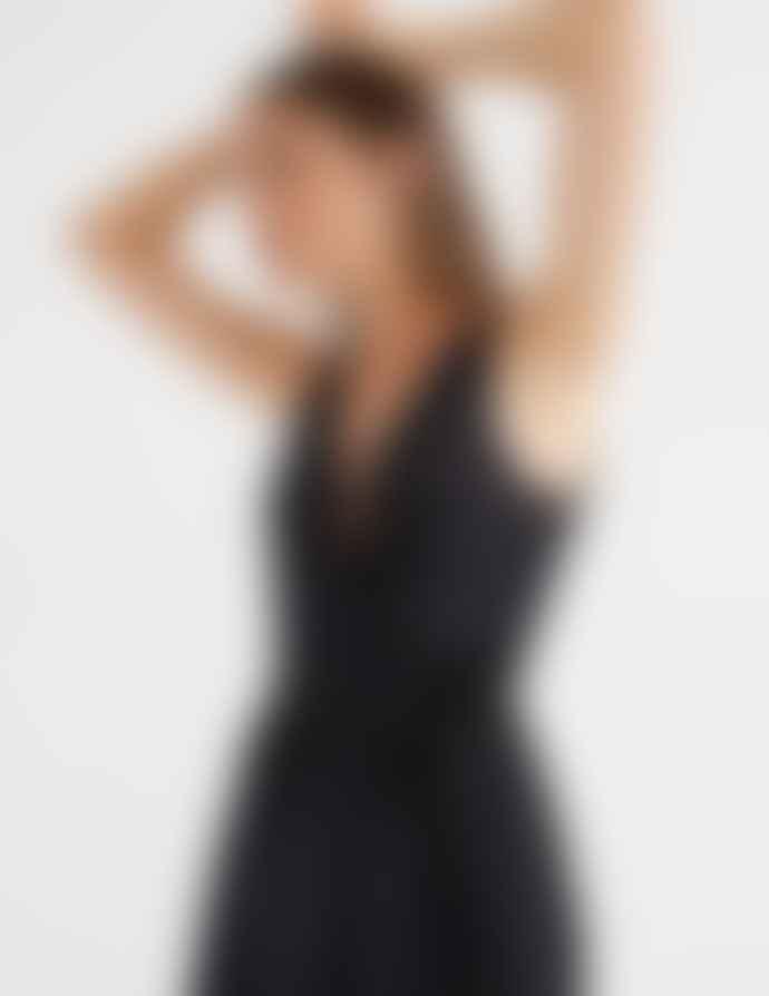 Thinking Mu Black Amapola Dress