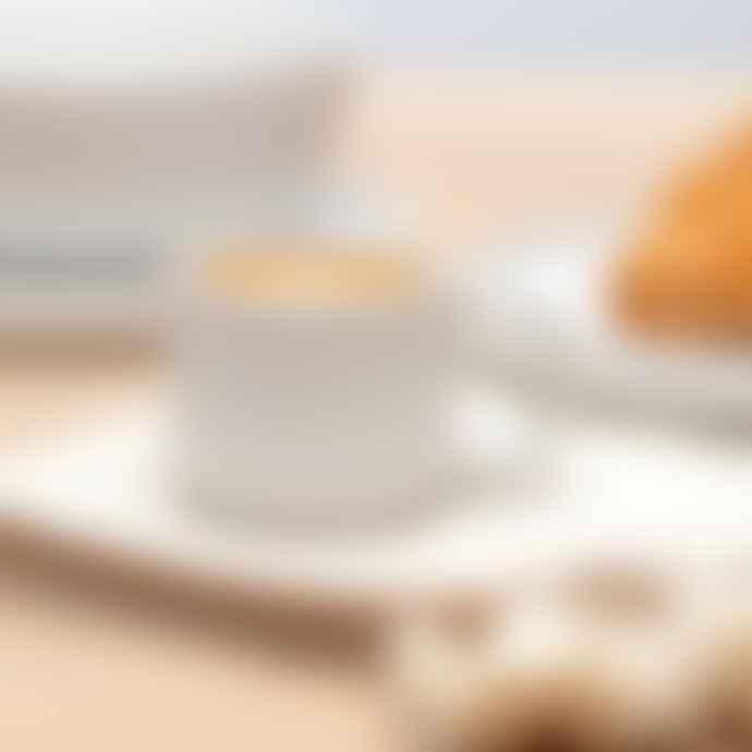 Chickadee Fika White Espresso Mug