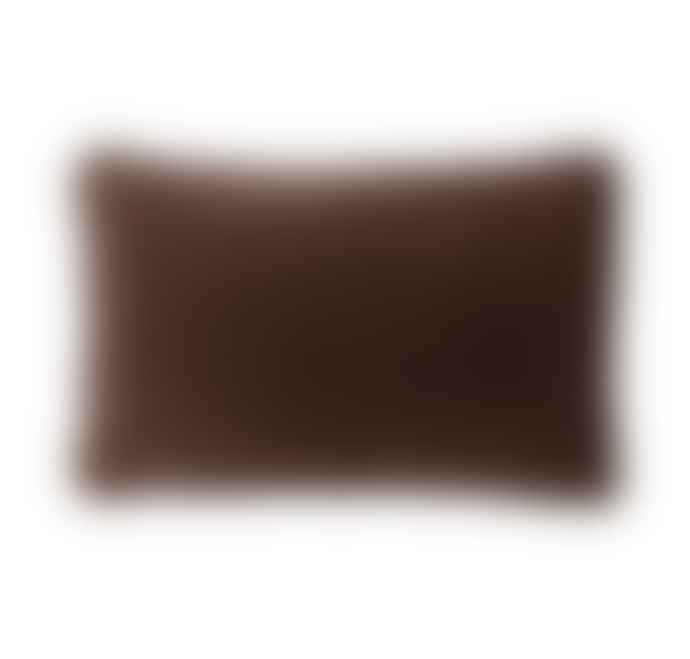 Bungalow DK Cushion Cover 33x50cm Velvet Chocolate
