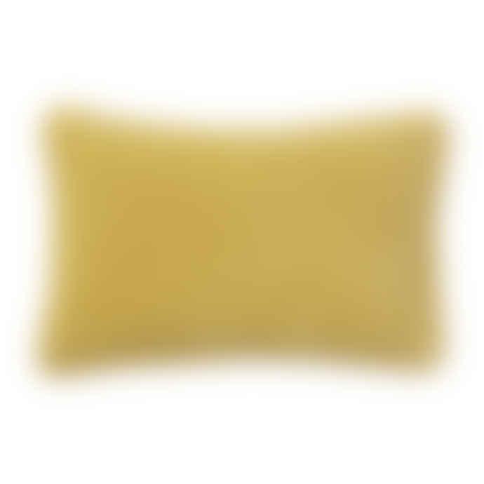 Bungalow DK Cushion Cover 33x50cm Velvet Lemon Curd
