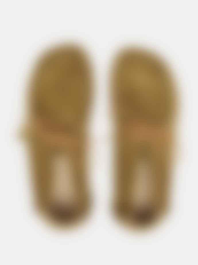 Yogi Footwear  Yogi X Hikerdelic Eric Suede Chukka Boot Moss Green