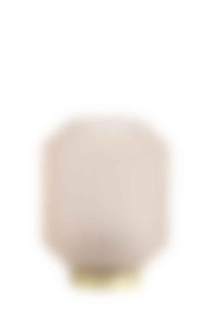 Light & Living Table Lamp Glass Mat Light Pink Medium