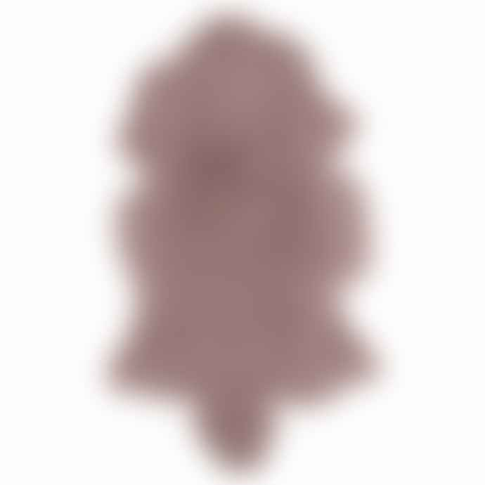 Van Buren Bolsward Pink Sustainable Tibetan Curly Sheepskin