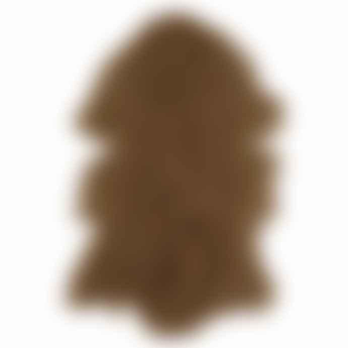 Van Buren Bolsward Caramel Sustainable Tibetan Curly Sheepskin