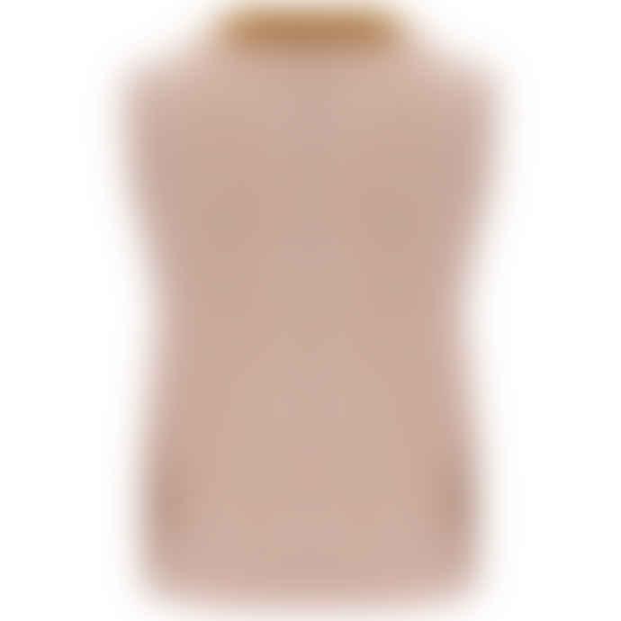 Baum und Pferdgarten Coleen Knitted Vest Top in Apricot Cream
