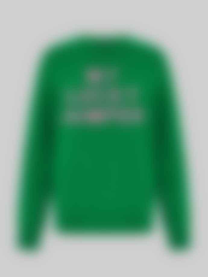 Markus Lupfer Mia Intarsia My Lucky Jumper in Green