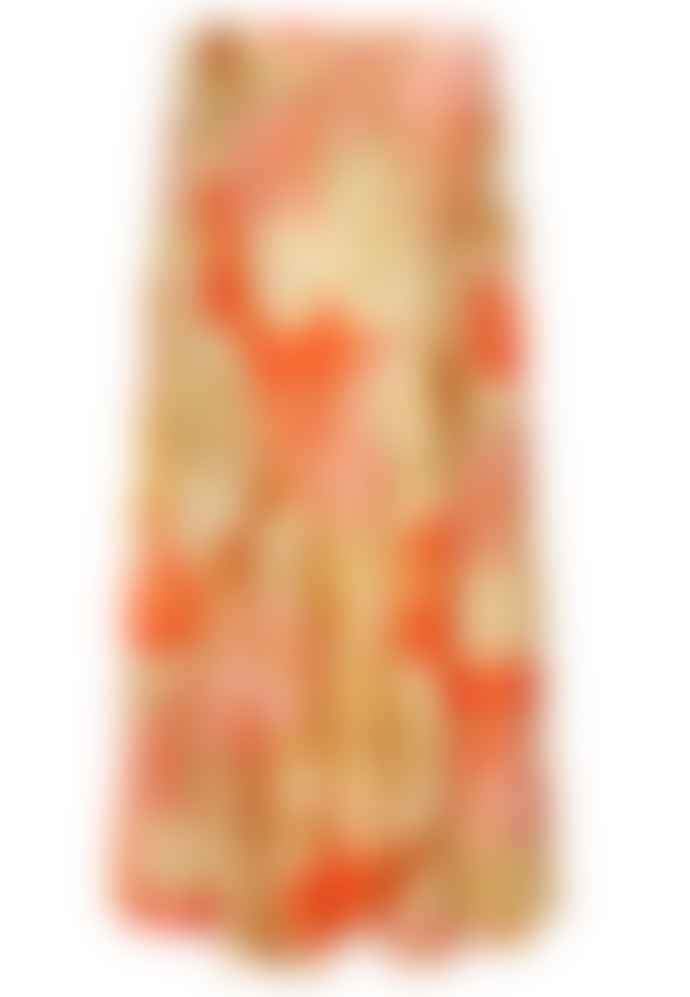 Dea Kudibal Khanga Taupe Printed Erica Skirt