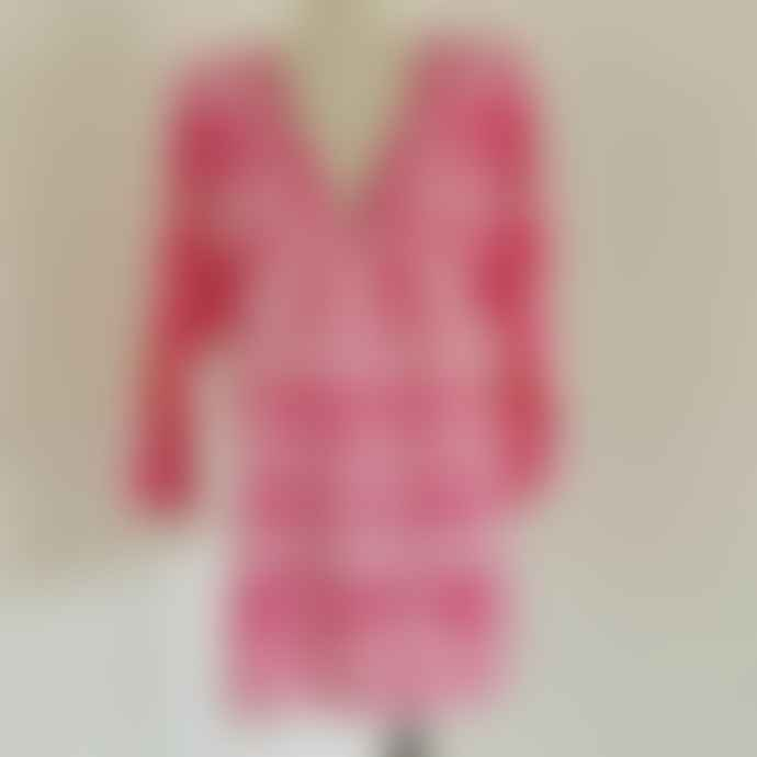 Pranella Melissa Embroidered Tunic - Pink