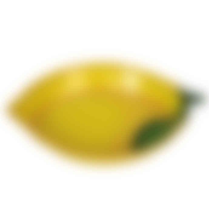 Posh Totty Designs Ceramic Lemon Serving Dish