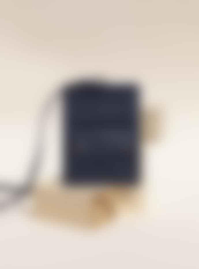 La Benjamine Cow Leather Mini Shoulder Bag with Detachable Wallet