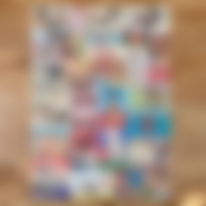 Meticulous Ink Cavallini Gift Wrap Wall Art - Eye Test - Folded