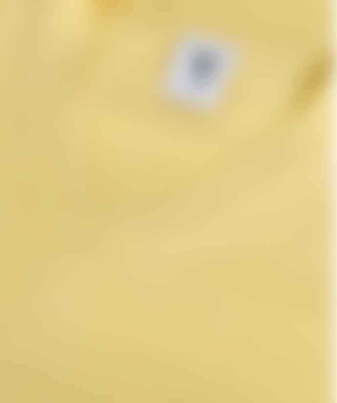 Van Kukil Yellow Paisley Boyfriend Style Cashmere Sweater