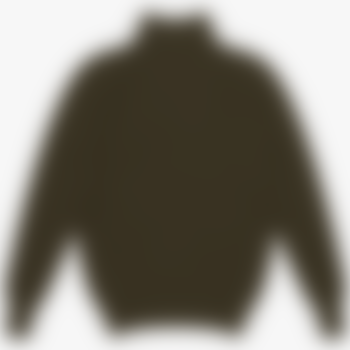 Knickerbocker Heavy Rib Turtleneck Olive Sweater
