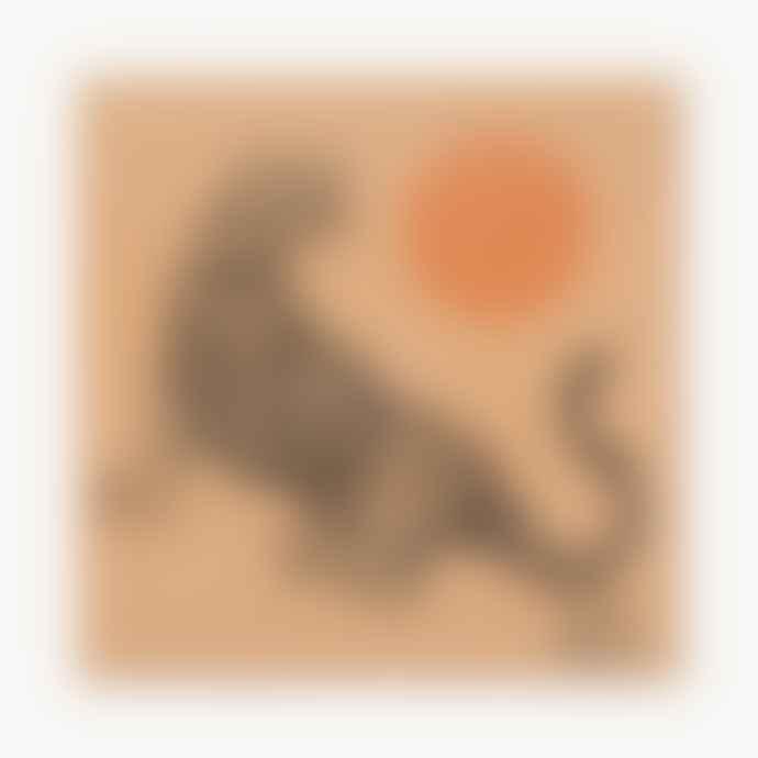 Cai & Jo Tiger And Sun Print