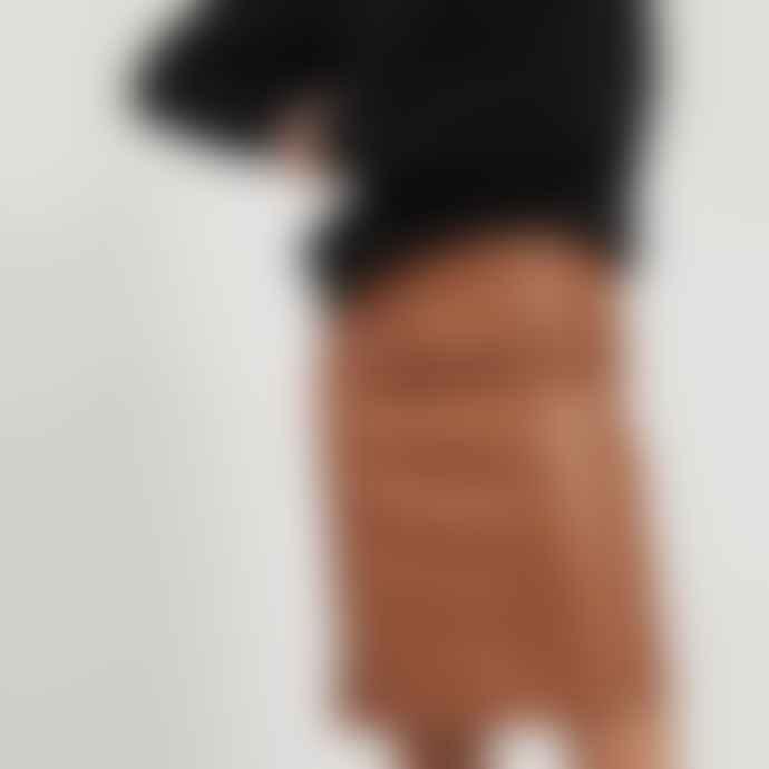 Vila Faux Leather Skirt