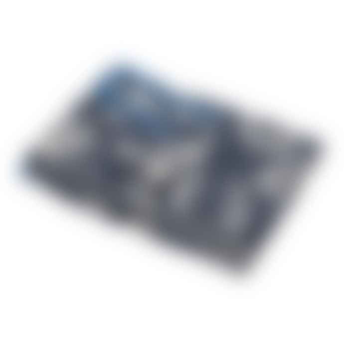 David Fussenegger 140 x 200cm Blue Luca Ceiling Waves Blanket