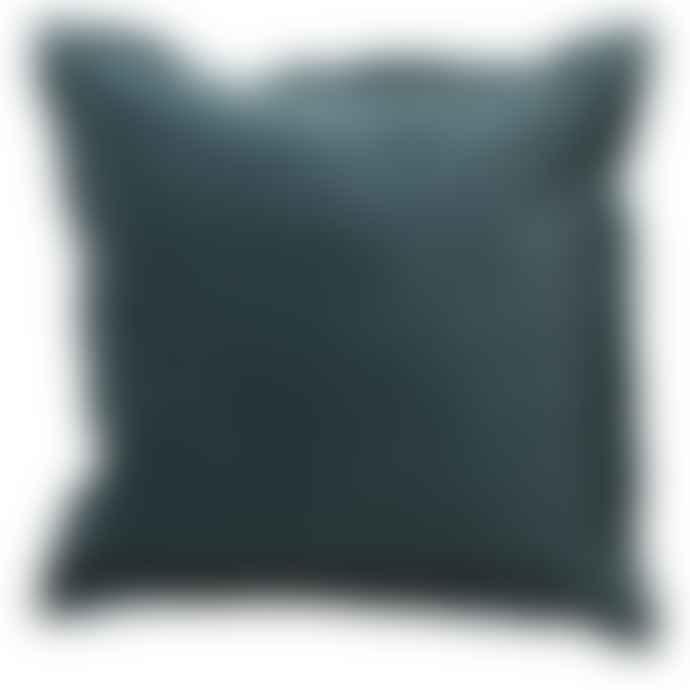 Grace and Grey Green Velvet Cushion