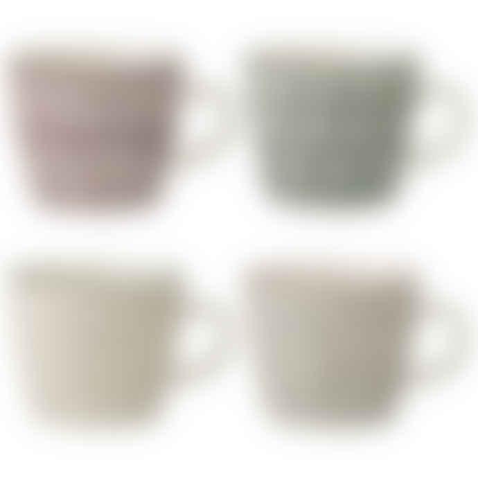 Bloomingville Set of 4 Karine Mugs