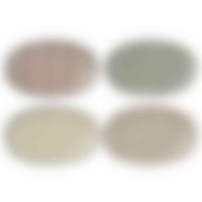 Bloomingville Set of 4 Karine Plates