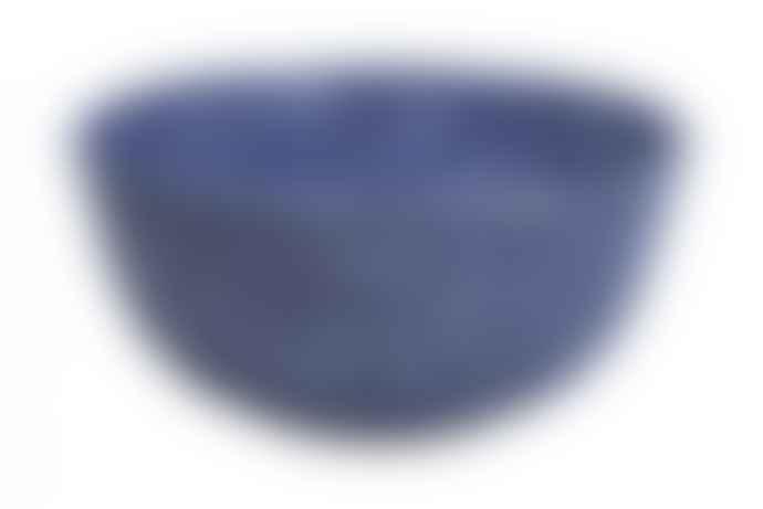 Faplana Melamine Bowl L Two-Color Blue
