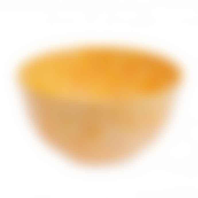 Faplana Melamine Bowl M Two-Color Yellow
