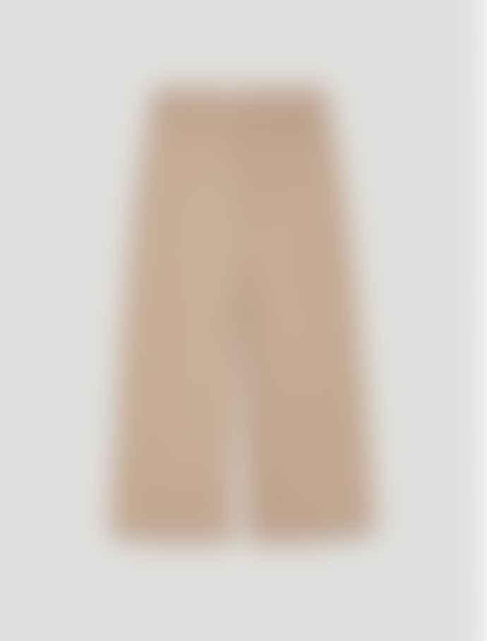 Penny Black Wide Leg Cotton Satin Trousers