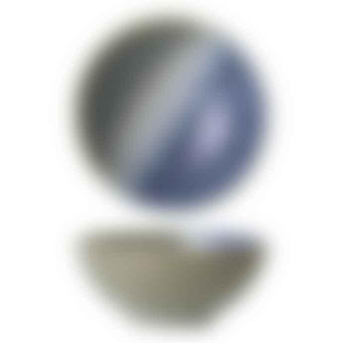 Bloomingville Green Blue Ombre Grazed Aura Bowl