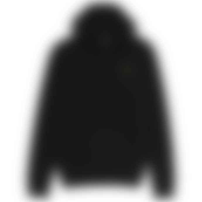 Emporio Armani  7 Core Id Hoodie Black Gold Badge