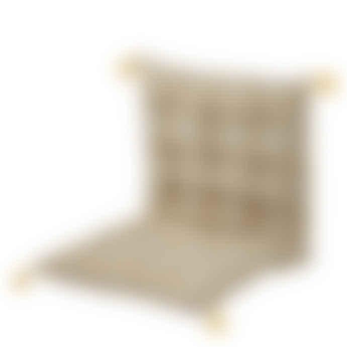 Bungalow DK Mattress 50x100x5 cm Paisley Curry