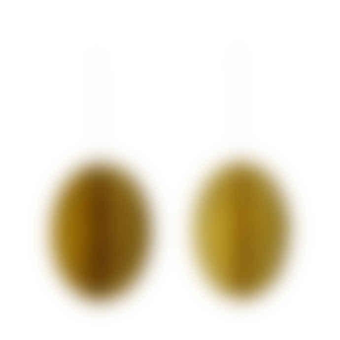Bungalow DK Paper Deco Egg Swirl Lemon Curd L 2 Pcs