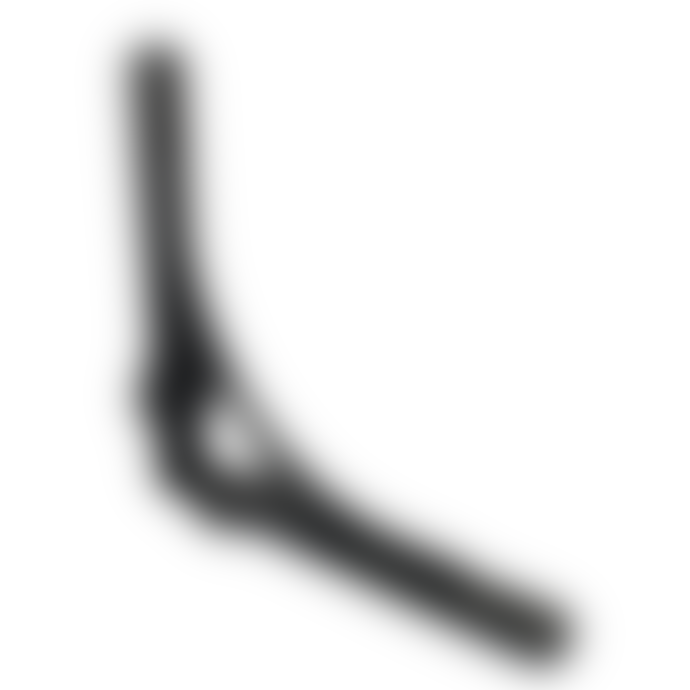 "Adfix Ironmongery Shelf Bracket Gallows with Lugs Antique Iron 7"""