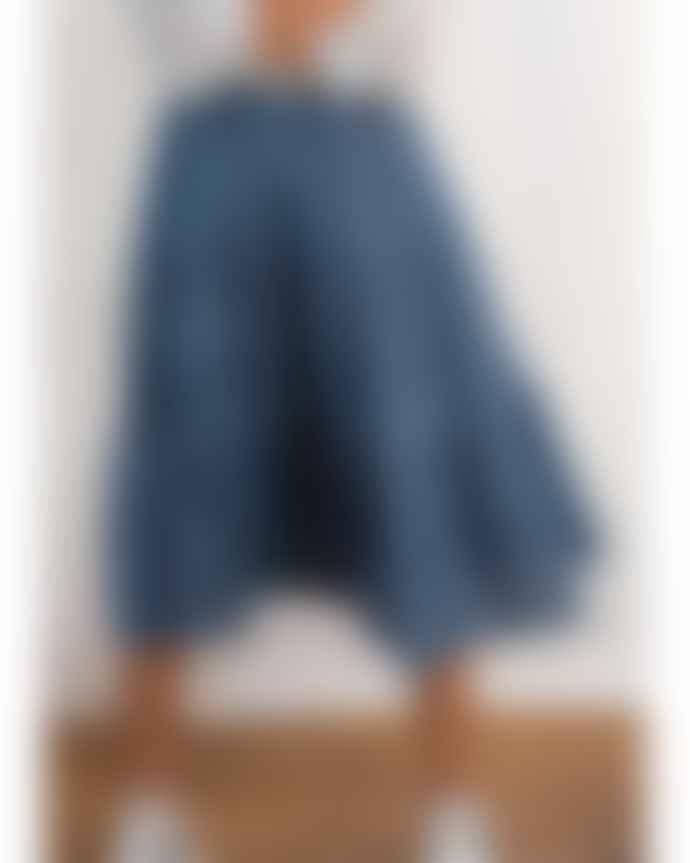 Lollys Laundry Petrol Blue Morning Skirt