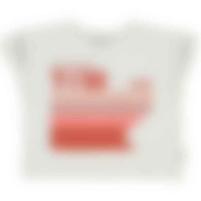 Piupiuchick Off White Multicolor T Shirt
