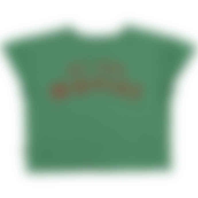 Piupiuchick Green Multicolor T Shirt