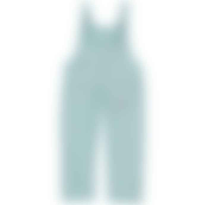 Piupiuchick Light Blue and Garnet Checkered Plaid Dungarees