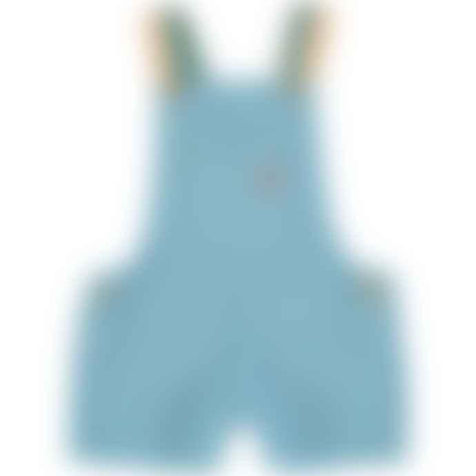 Piupiuchick Blue Short Dungarees