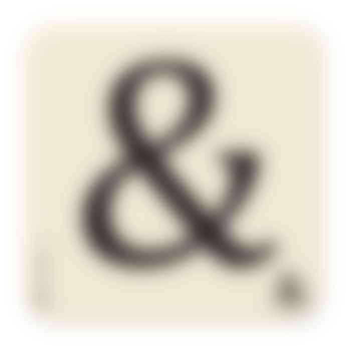 Bluebell 33 10 x 10cm Ampersand Scrabble Coaster