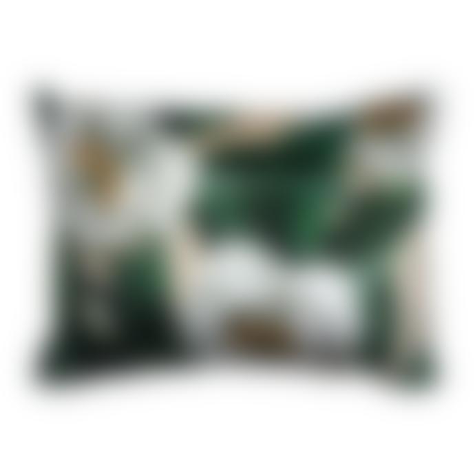 Vanilla Fly 50x70cm Big Tree Peony Velvet Cushion