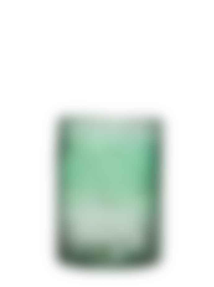 Wikholm Form Large Mina Glass Bubble Lantern Dark Green