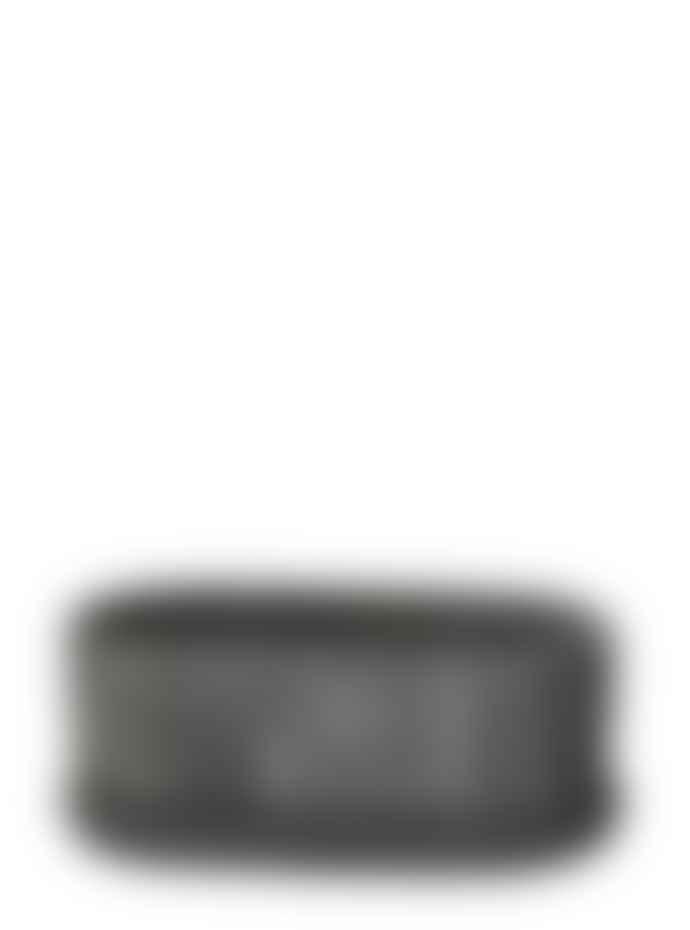 Wikholm Form Nea Concrete Planter With Plate Black