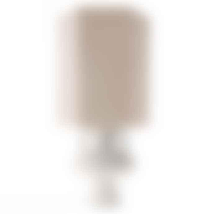 HKliving Large Stoneware Lamp Base White