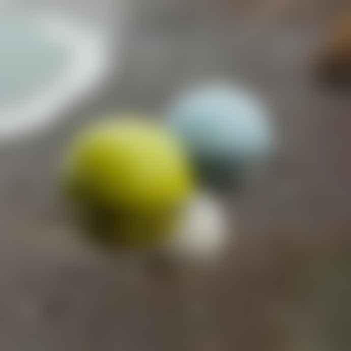 Green & Blue Birdball Seed Bird Feeder