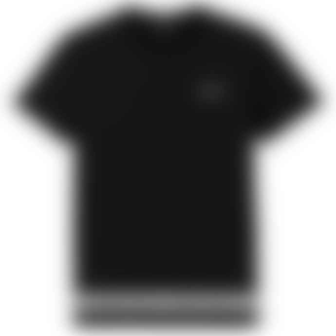 Emporio Armani  7 Tape Hem T Shirt Black