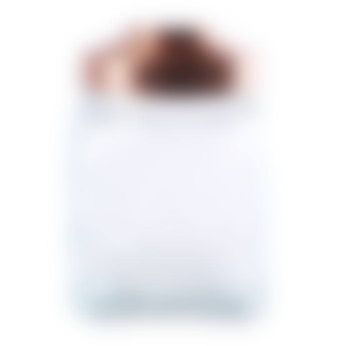 livs Large Squat Diamond Embossed Jar with Copper Lid