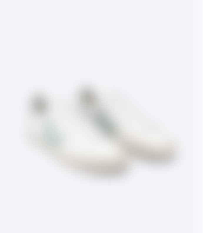 Veja Women Campo Trainers Chromefree Sneakers Extra White Matcha